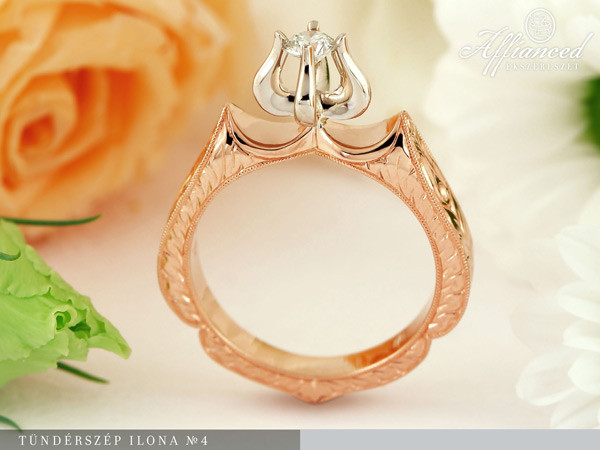 Tündérszép Ilona no4 - eljegyzési gyűrű