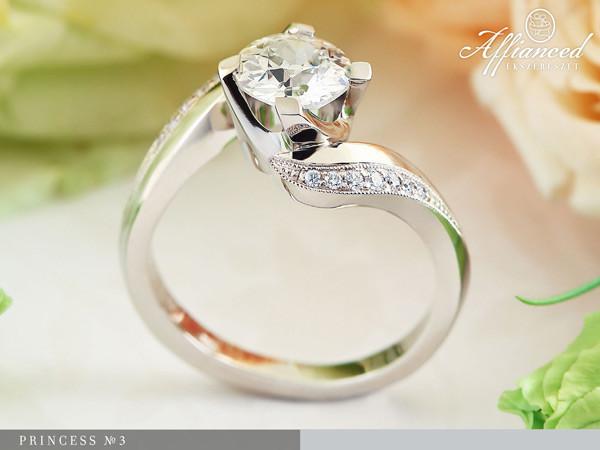 Princess no3 - eljegyzési gyűrű