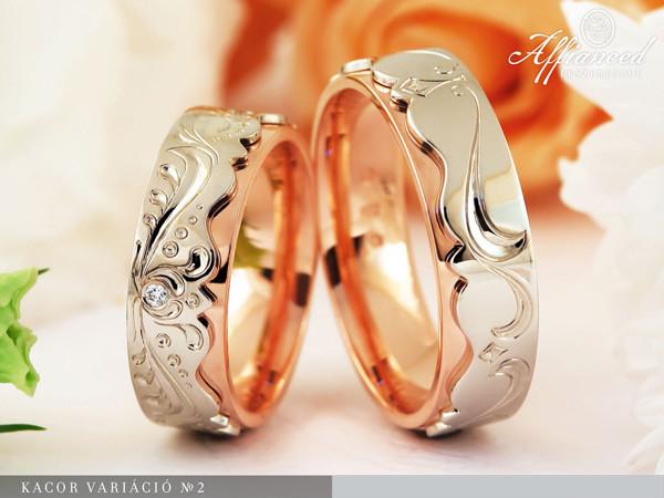 Kacor Variáció no2 - karikagyűrű pár