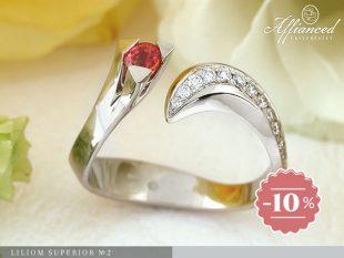 Liliom Superior no2 - eljegyzési gyűrű