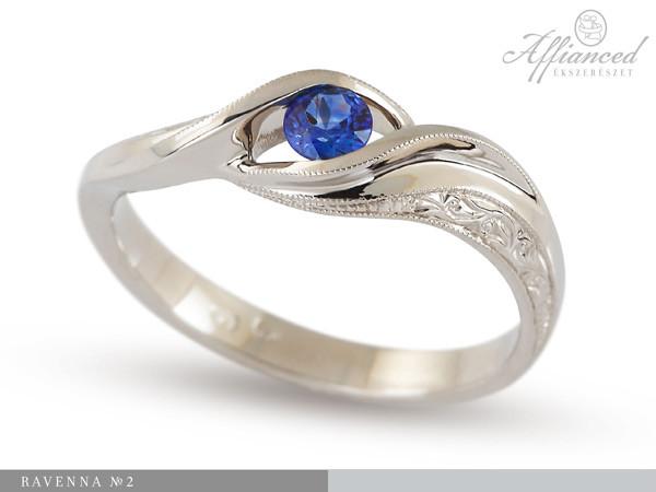 Ravenna no2 - eljegyzési gyűrű