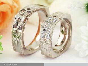 Tulipán no8 - karikagyűrű