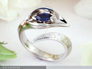 Kála Barokk - eljegyzési gyűrű