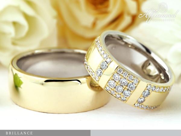 Brillance - karikagyűrű pár