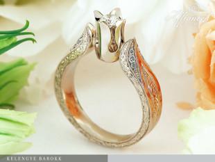 Kelengye Barokk - eljegyzési gyűrű