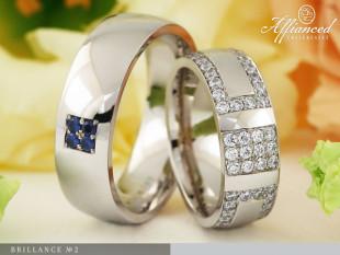 Brillance no2 - karikagyűrű pár