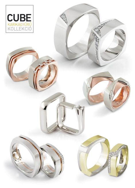 Cube karikagyűrűk