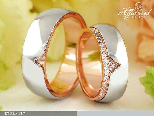 Eternity - karikagyűrű pár