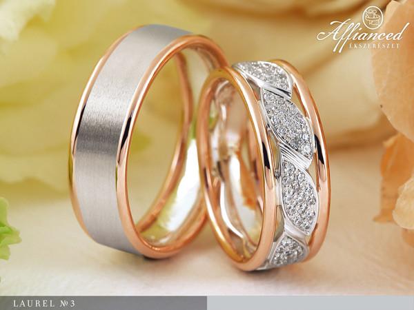 Laurel no3 - karikagyűrű pár
