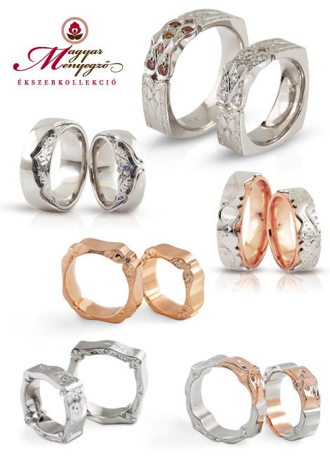 Magyar Menyegző karikagyűrűk