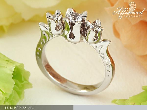 Tulipánfa no3 - eljegyzési gyűrű