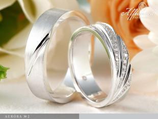 Auróra no2 - karikagyűrű pár
