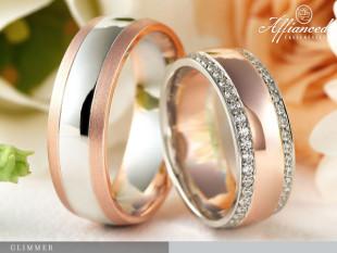 Glimmer - karikagyűrű pár