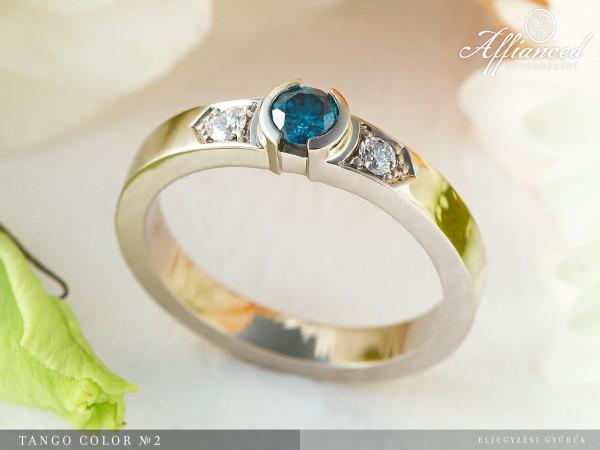 Tango Color no2 - eljegyzési gyűrű