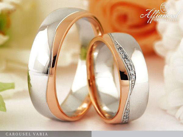Carousel Varia - karikagyűrű pár