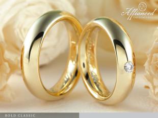 Bold Classic - Karikagyűrű pár