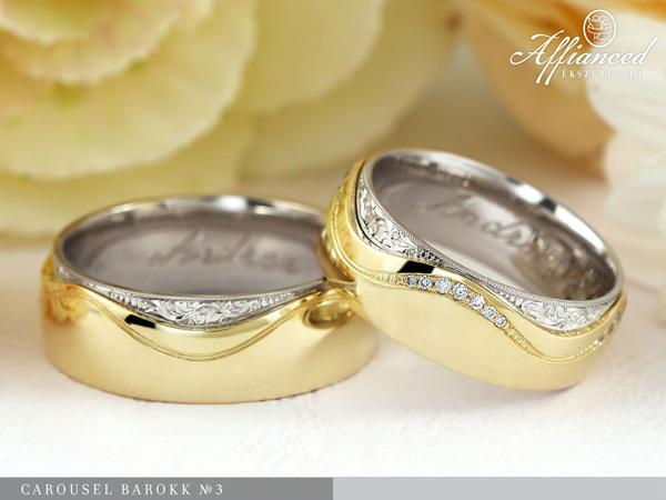 Carousel Barokk no3 - Karikagyűrű pár