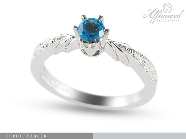 Cupido Barokk - eljegyzési gyűrű