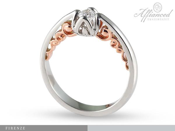 Firenze - eljegyzési gyűrű