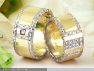 Barocco Luxus no2 - Karikagyűrű pár