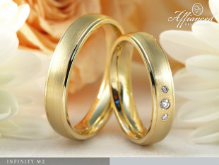 Infinity no2 - Karikagyűrű pár