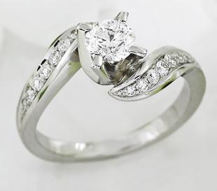 Princess - eljegyzési gyűrű