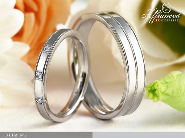 Slim no2 - Karikagyűrű pár