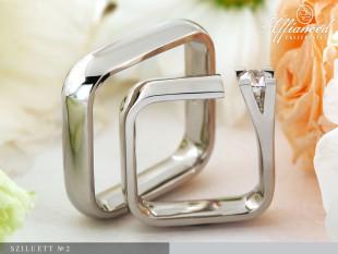 Sziluett no2 - Karikagyűrű pár