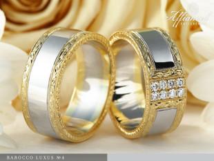 Barocco Luxus no4 - karikagyűrű pár