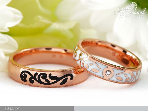 Bellini - karikagyűrű pár