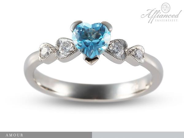 Amour - eljegyzési gyűrű