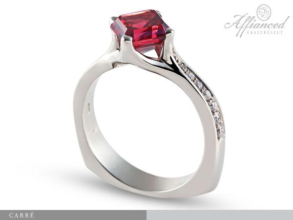 Carré - eljegyzési gyűrű