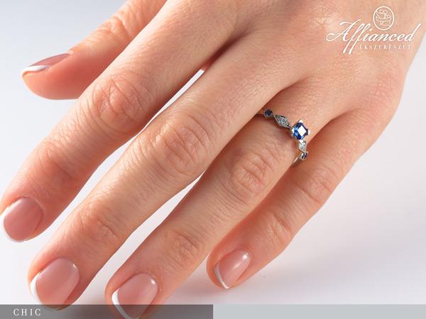 Chic - eljegyzési gyűrű
