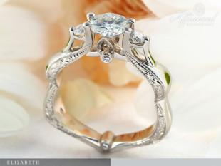 Elizabeth - eljegyzési gyűrű