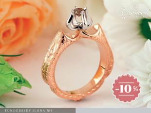 Tündérszép Ilona no5 – eljegyzési gyűrű