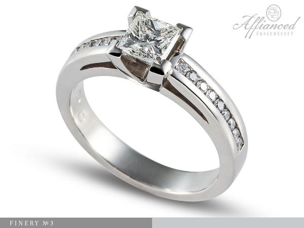 Finery no3 - eljegyzési gyűrű