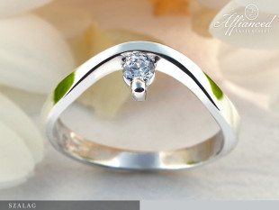 Szalag - eljegyzési gyűrű