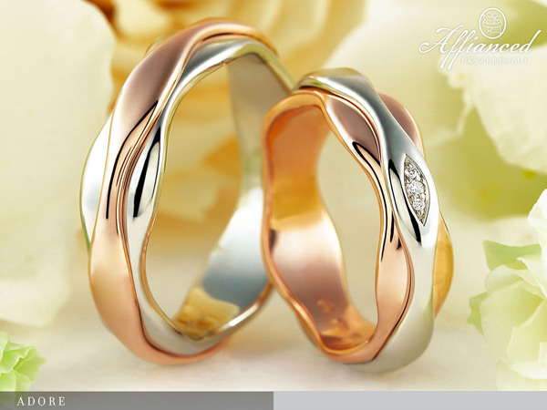 Adore - karikagyűrű pár