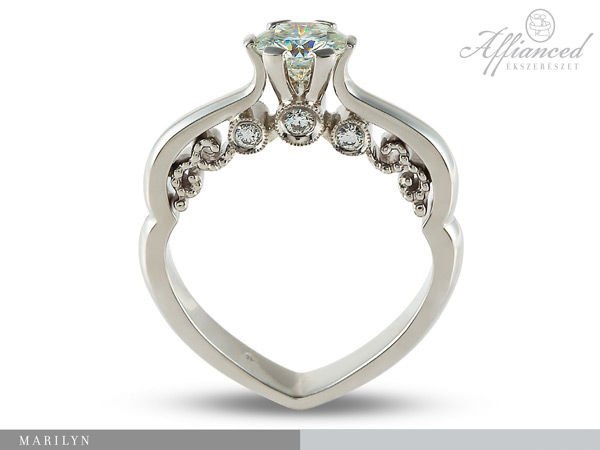 Marilyn - eljegyzési gyűrű