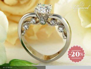 Audrey - női vagy eljegyzési gyűrű