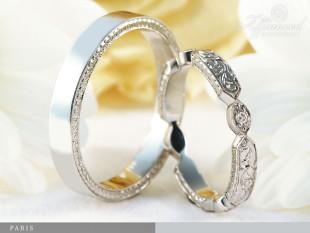 Paris - karikagyűrű pár