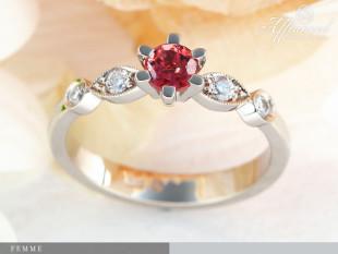 Femme - eljegyzési gyűrű