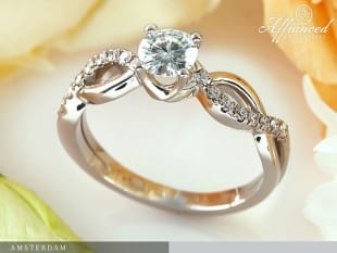 Unique Handmade engagement rings Affianced Fine Jewellery