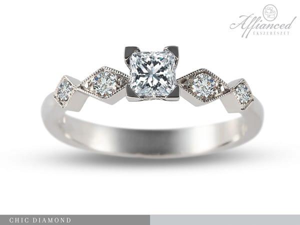 Chic Diamond – eljegyzési gyűrű