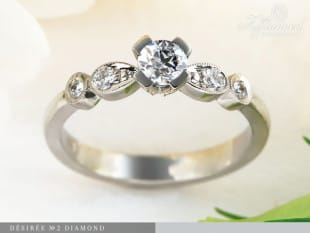 Désirée Diamond – eljegyzési gyűrű