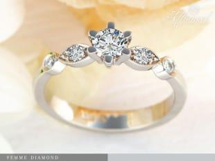 Femme Diamond - eljegyzési gyűrű