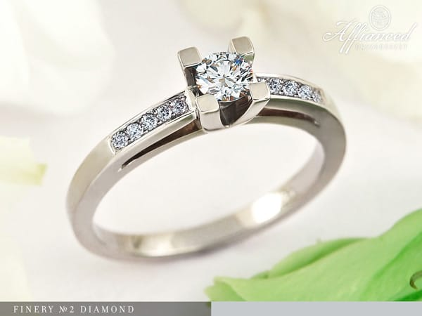 Finery no2 Diamond – eljegyzési gyűrű