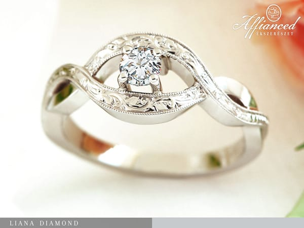 Liana Diamond – eljegyzési gyűrű