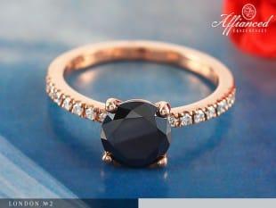 London no2 – eljegyzési gyűrű
