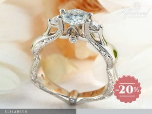 Elizabeth – női vagy eljegyzési gyűrű